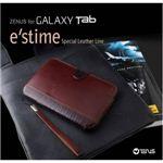 Z279GT★Galaxy Tab/ギャラクシー タブ●E`stime 高級天然革ケース