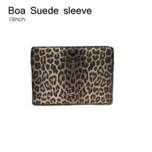 B6015B★Abbi Newyork(アビィ・ニューヨーク)●Boa Suede sleeve - ノートパソコンケース - 拡大画像