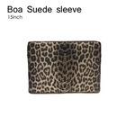 B6015B★Abbi Newyork(アビィ・ニューヨーク)●Boa Suede sleeve - ノートパソコンケース