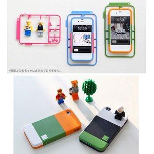 """話題の""""プラモデル型""""【KIT_】自分だけのiPhone4/4Sケース‐512色以上演出可能!!!●A-Dark Blue(ダークブルー) - 拡大画像"""