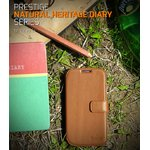 docomo【GALAXY S4 SC-04E】Zenus Prestige Heritage Diary(プレステージ ヘリテッジダイアリー) レザーケース☆本革ーブラック