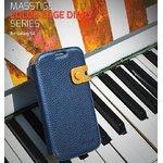 docomo【GALAXY S4 SC-04E】Zenus Masstige Color Edge Diary(マステージ カラーエッジダイアリー) レザーケース☆ネイビー