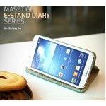 【docomo】GALAXY S4 SC-04E Masstige E-Stand Diary (マステージ イースタンドダイアリー)☆スタンド機能付き-ネイビー