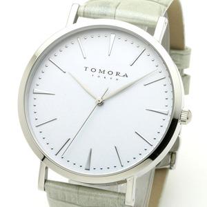 TOMORA TOKYO(トモラトウキョウ) 腕時計 日本製 T-1601-SWHGY - 拡大画像