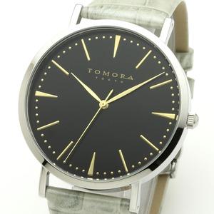 TOMORA TOKYO(トモラトウキョウ) 腕時計 日本製 T-1601-GBKGY - 拡大画像