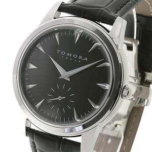 TOMORA TOKYO(トモラトウキョウ) 腕時計 日本製 T-1602-SSBK - 拡大画像
