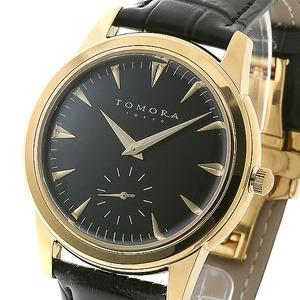 TOMORA TOKYO(トモラトウキョウ) 腕時計 日本製 T-1602-GDBK - 拡大画像