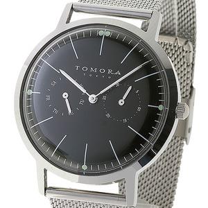 TOMORA TOKYO(トモラトウキョウ) 腕時計 日本製 T-1603-BK