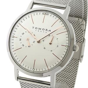 TOMORA TOKYO(トモラトウキョウ) 腕時計 日本製 T-1603-PWH