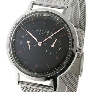 TOMORA TOKYO(トモラトウキョウ) 腕時計 日本製 T-1603-PBK
