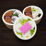 DELON デロン ボディバター【3個セット】 スムーズバニラ/ホワイトピオニー/ココナッツ
