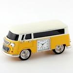 ミニチュア置時計 車 バス/MC-C3159-YL