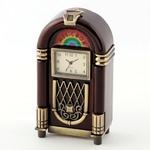 ミニチュア置時計 ジュークボックス 音楽 アンティーク/MC-C3310