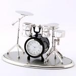 ミニチュア置時計 ドラムセット 楽器/MC-C3373