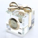 ミニチュア置時計 リボン 箱 CR0001