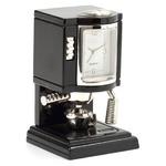 ミニチュア置時計 コーヒーメーカー ブラック 黒/MC-C3017-BK