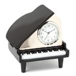 ミニチュア置時計 ピアノ ブラック 黒/MC-C3018-BK