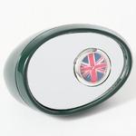 ミニチュア置時計 サイドミラー 緑 グリーン/MC-C3215-DGR