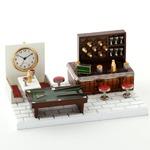 ミニチュア置時計 プールバー BAR バー ビリヤード MC-C3325