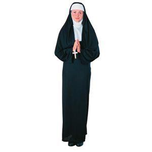 【コスプレ】 RUBIE'S(ルービーズ) ADULT(アダルト) コスプレ Nun(ナン) Stdサイズ - 拡大画像