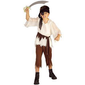 【コスプレ】 RUBIE'S(ルービーズ) CHILD(チャイルド) コスプレ Pirate Boy(パイレット ボーイ) Mサイズ - 拡大画像