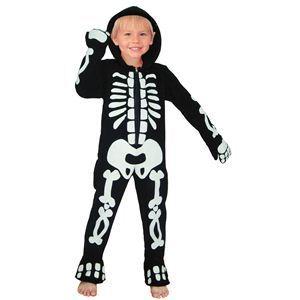 RUBIE'S(ルービーズ) CHILD(チャイルド) コスプレ G.I.D Fleece Skeleton(G.I.D フリース スケルトン) Todサイズ - 拡大画像