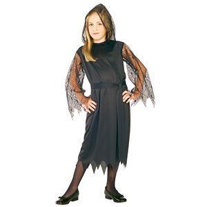 【コスプレ】 RUBIE'S(ルービーズ) CHILD(チャイルド) コスプレ Gothic Lace Vampiress(ゴシック レイス ヴァンパイアズ) Mサイズ - 拡大画像