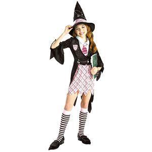 【コスプレ】 RUBIE'S(ルービーズ) CHILD(チャイルド) コスプレ Charm School Witch(チャーム スクール ウィッチ) Sサイズ - 拡大画像
