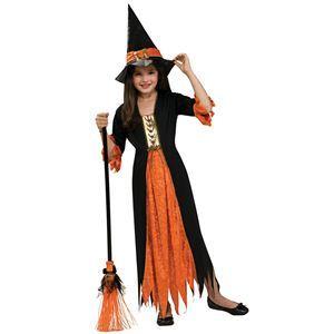 【コスプレ】 RUBIE'S(ルービーズ) CHILD(チャイルド) コスプレ Gothic Witch(ゴシック ウィッチ) Mサイズ - 拡大画像