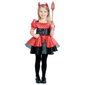 【コスプレ】 RUBIE'S(ルービーズ) CHILD(チャイルド) コスプレ Pretty Devil(プリティー デビル) Mサイズ - 拡大画像