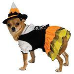 【コスプレ】 RUBIE'S(ルービーズ) PET(ペット用コスプレ) ペットコスプレ Candy Witch Pet Costume(キャンディー ウィッチ ペット コスチューム) XSサイズ
