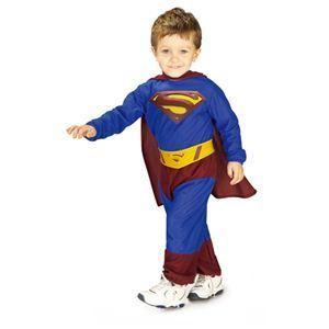 【コスプレ】 RUBIE'S(ルービーズ) SUPERMAN(スーパーマン) コスプレ Kids Superman(スーパーマン) Todサイズ(キッズ・子供用) - 拡大画像