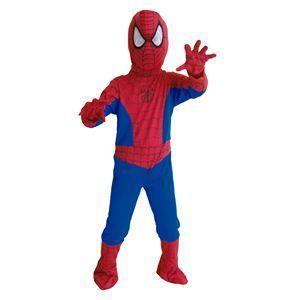 【コスプレ】 RUBIE'S(ルービーズ) SPIDER MAN(スパイダーマン) コスプレ Child Spiderman(スパイダーマン) Mサイズ - 拡大画像