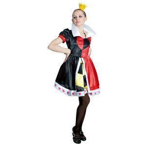 【コスプレ】 RUBIE'S(ルービーズ) DISNEY(ディズニー) コスプレ Adult Queen Of Hearts(クイーン オブ ハーツ) Stdサイズ - 拡大画像