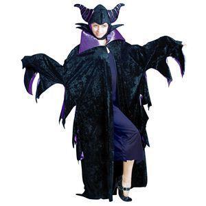 【コスプレ】 RUBIE'S(ルービーズ) DISNEY(ディズニー) コスプレ 眠れる森の美女 Adult Maleficent(マレフィセント) Stdサイズ - 拡大画像