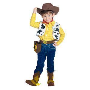 【コスプレ】 RUBIE'S(ルービーズ) DISNEY(ディズニー) コスプレ TOY STORY(トイ・ストーリー)シリーズ Woody(ウッディ) Sサイズ - 拡大画像