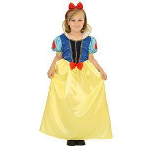 【コスプレ】 RUBIE'S(ルービーズ) DISNEY(ディズニー) コスプレ PRINCESS(プリンセス)シリーズ 白雪姫 Child Snow White(スノウ ホワイト) Sサイズ - 拡大画像