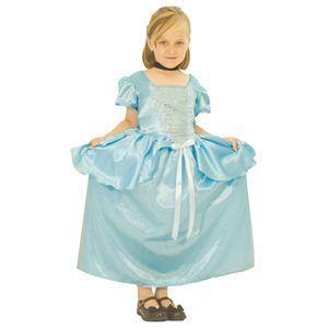 【コスプレ】 RUBIE'S(ルービーズ) DISNEY(ディズニー) コスプレ PRINCESS(プリンセス)シリーズ シンデレラ Child Cinderella(シンデレラ) Sサイズ - 拡大画像