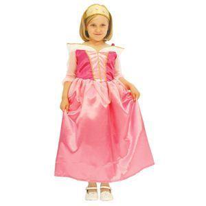 RUBIE'S(ルービーズ) DISNEY(ディズニー) コスプレ PRINCESS(プリンセス)シリーズ 眠れる森の美女 Child Aurora(オーロラ) Mサイズ - 拡大画像