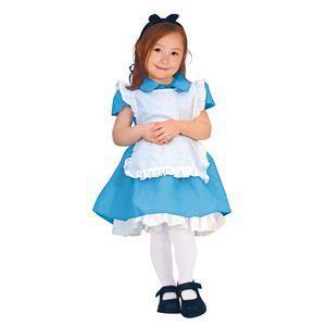 【コスプレ】 RUBIE'S(ルービーズ) DISNEY(ディズニー) コスプレ Child Alice(アリス) Todサイズ(キッズ・子供用) - 拡大画像