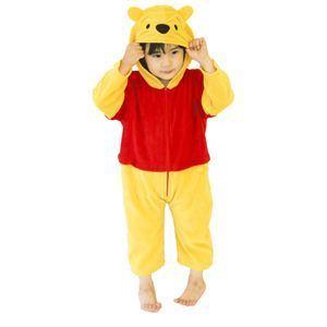 【コスプレ】 RUBIE'S(ルービーズ) DISNEY(ディズニー) コスプレ くまのプーさん Baby Pooh(プー) Todサイズ(キッズ・子供用) - 拡大画像