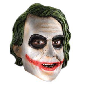 【コスプレ】 RUBIE'S (ルービーズ) 4499 バットマン The Joker Adult 3/4 Mask - 拡大画像