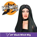 """【コスプレ】 RUBIE'S (ルービーズ) 50700 24"""" Black Witch Wig(ウィッグ)"""