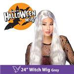 """【コスプレ】 RUBIE'S (ルービーズ) 50702 24"""" Witch Wig -Grey(ウィッグ)"""
