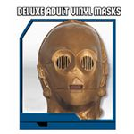 【コスプレ】 RUBIE'S (ルービーズ) 2866 スターウォーズ Deluxe adult vinyl masks C-3PO(マスク)