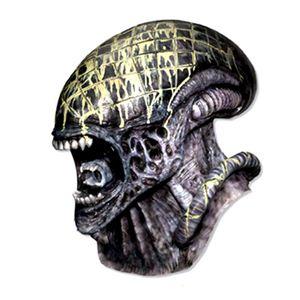 【コスプレ】 RUBIE'S (ルービーズ) 4150 エイリアンVSプレデター Deluxe Alien Overhead Latex Mask(マスク) - 拡大画像
