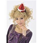 【クリスマスコスプレ】キラキラサンタ帽子カチューシャ