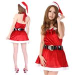 【クリスマスコスプレ】Short-p502A レディースサンタ・ショート502(赤)