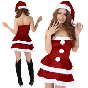 【クリスマスコスプレ 衣装】Short-p431A レディースサンタ・ショート431 - 拡大画像