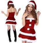 【クリスマスコスプレ 衣装】Short-p431A レディースサンタ・ショート431